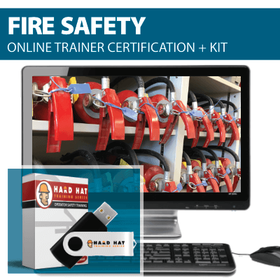 Fire Safety Train the Trainer Certification Online Course