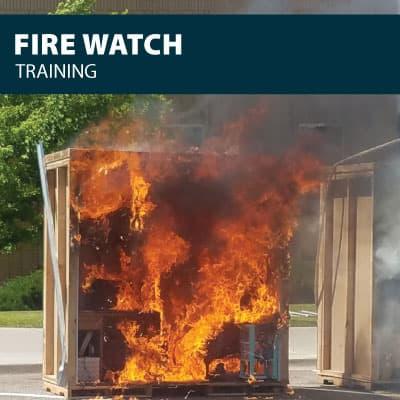 fire watch training certification