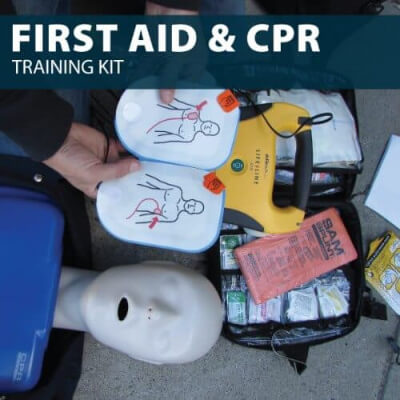 First Aid and CPR Training Kit by Hat Hat Training