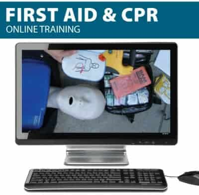 First Aid and CPR Online Training