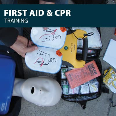 firs aid and cpr training certification