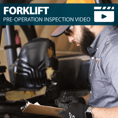 Forklift Pre-Operation Inspection Training Video
