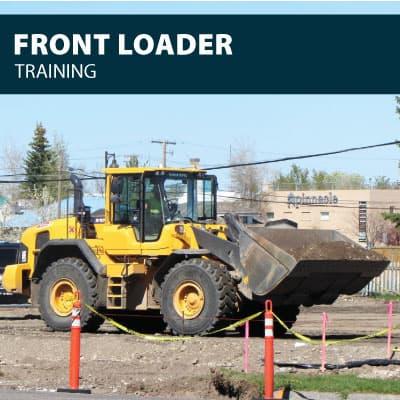 front loader training certification