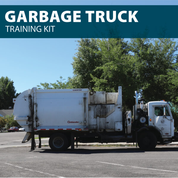 Garbage Truck Training Kit from Hard Hat Training