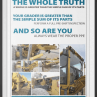 earth mover safety poster