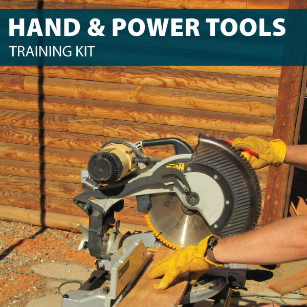 Hand and Power Tools Training Kit from Hard Hat Training