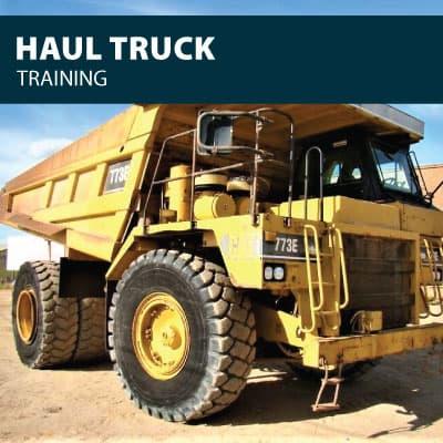 haul truck training certification