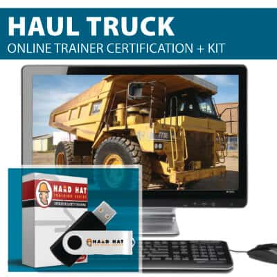 Haul Truck Train the Trainer Certification Online Course