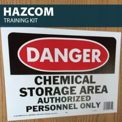 HazCom Training Kit by Hard Hat Training