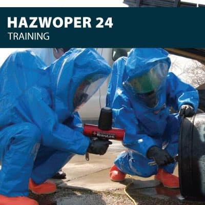 hazwoper 24 training certification