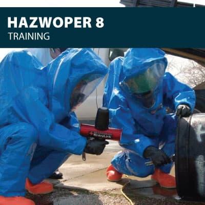 hazwoper 8 training certification