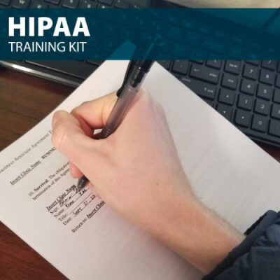HIPAA Training Kit from Hard Hat Training