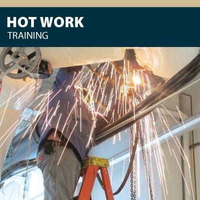 hot work training certification