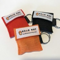 Hard Hat Training CPR Keychain