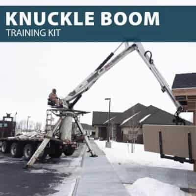 Knuckle Boom Training Kit by Hard Hat Training