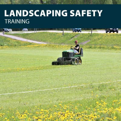 landscaping training certification
