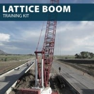 Lattice Boom Training Kit by Hard Hat Training