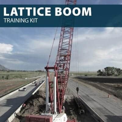 Lattice Boom Training Kit by Hard Hat Training