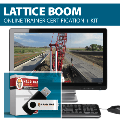 Lattice Boom Crane Train the Trainer Certification