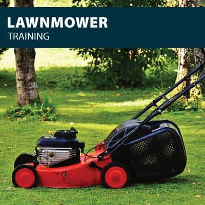 lawnmower training certification