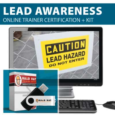 Lead Awareness Train the Trainer Certification