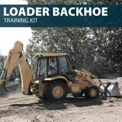 Backhoe Training Kit - Backhoe Operator Training to Earn Backhoe Certification and Backhoe License