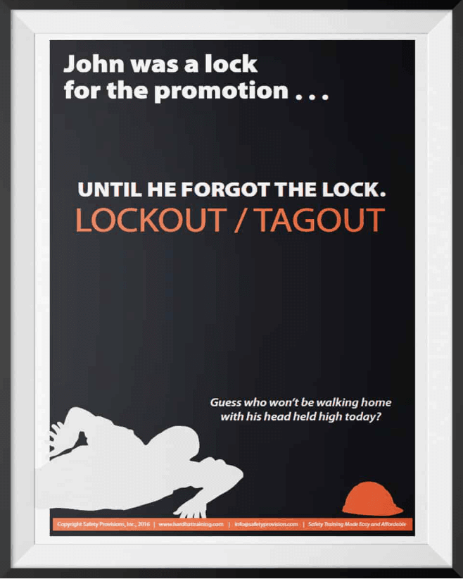 Lockout Tagout - Lock for Promotion