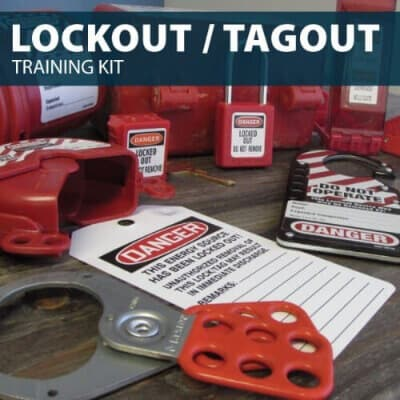 Lockout/Tagout (LOTO) Training Kit by Hard Hat Training
