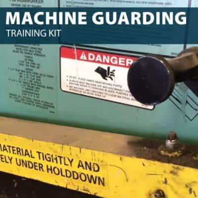 Machine GuardingTraining Kit by Hard Hat Training