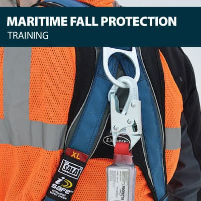 canada maritime fall protection training certification