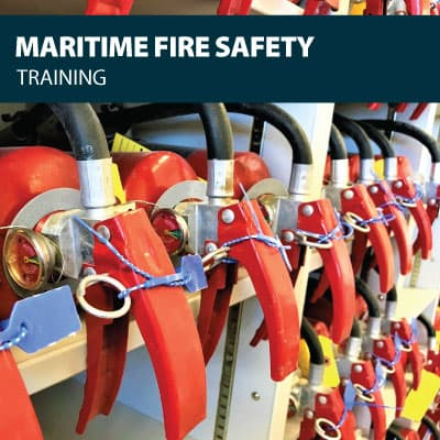 canada maritime fire safety training certification