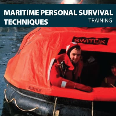 canada maritime personal survival techniques training certification