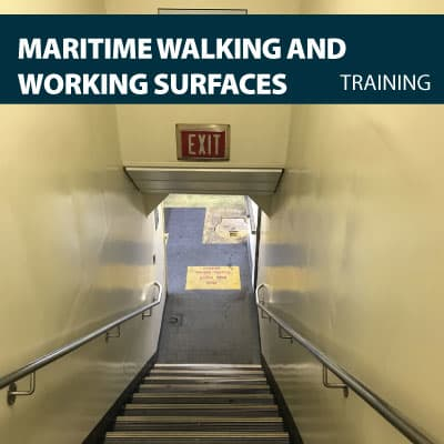 canada maritime walking working surfaces training certification