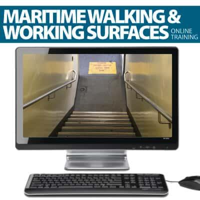 Maritime Training (Walking & Working Surfaces) - Get Maritime Certification for Walking and Working Surfaces Safety