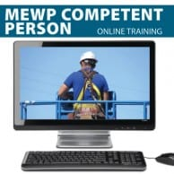 MEWP Competent Person Supervisor Training Online