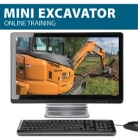 Mini Excavator Training and Mini Excavator Certification - Learn to Operate a Mini Excavator Safely