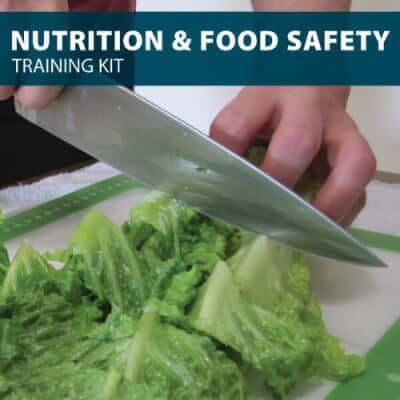 Nutrition and Food Training Kit from Hard Hat Training