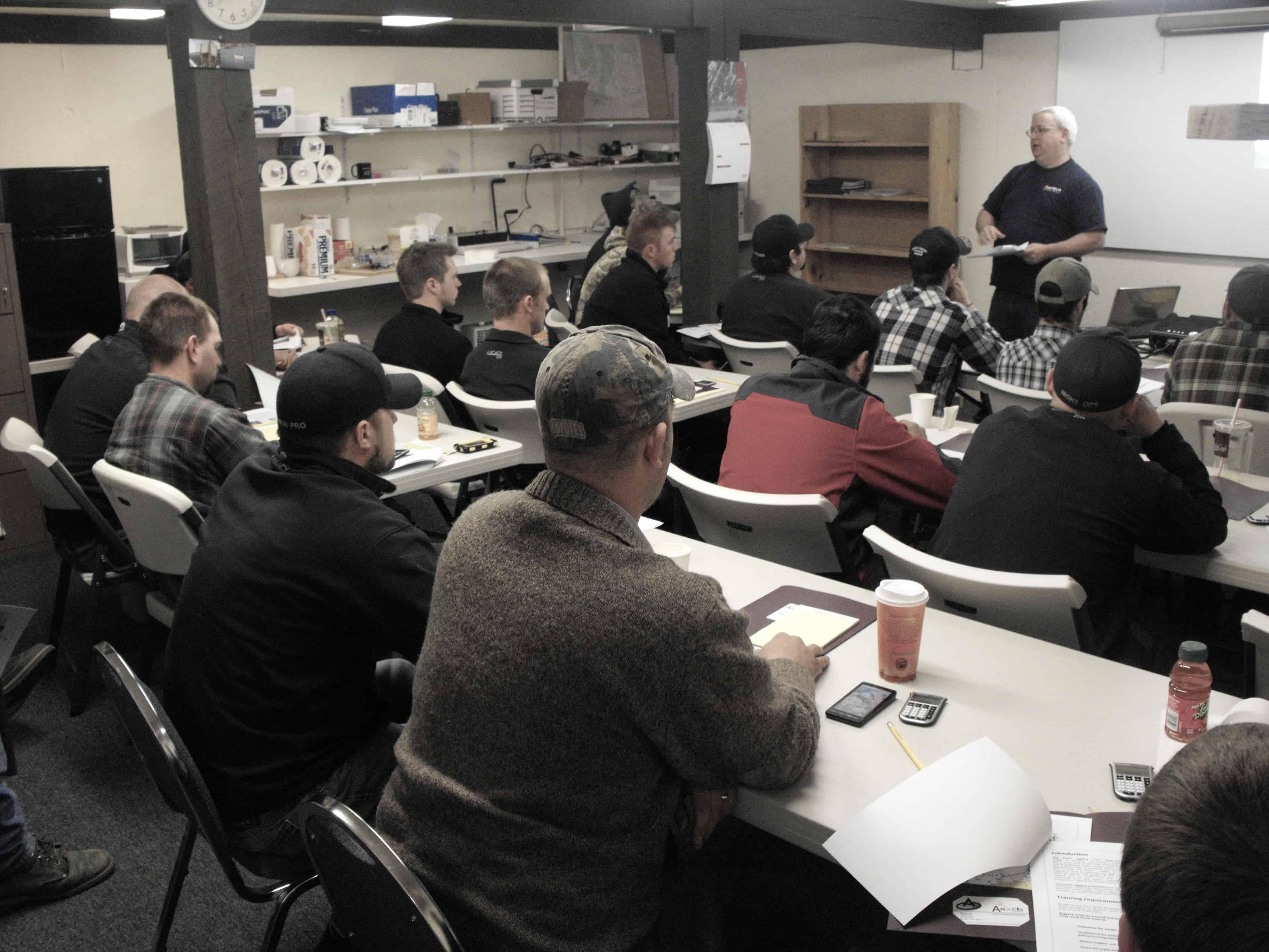 operator safety training classroom