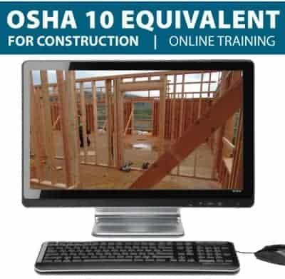 OSHA 10 Construction Online Training