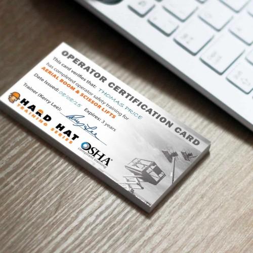 osha operator certification