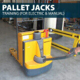 Pallet Jack Trainingby Hard Hat Training an Occupational Safety and Health Compliant Safety Training Company