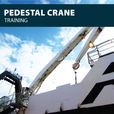 canada pedestal crane training certification