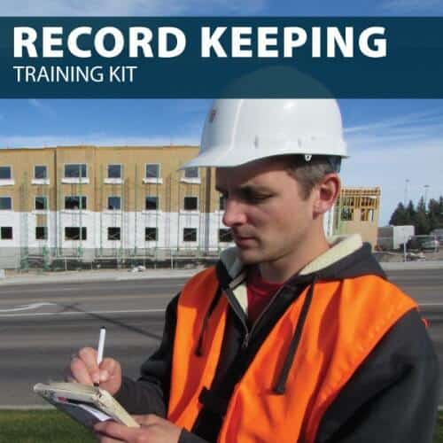 Record Keeping Training Kit