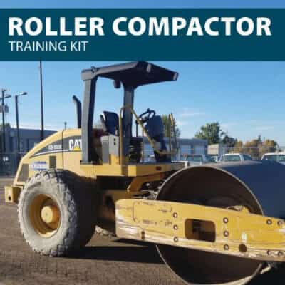 Roller Compactor Training Kit from Hard Hat Training by Hard Hat Training