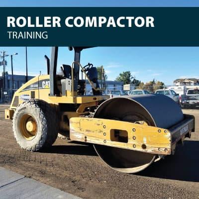 roller compactor road roller training certification