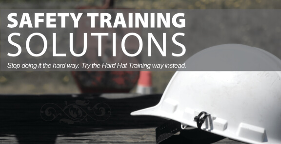 Hard Hat Training offers safety training solutions