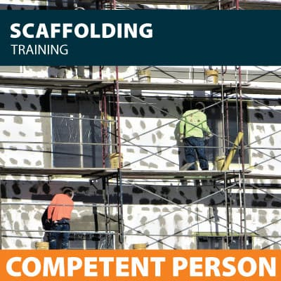 scaffolding competent person