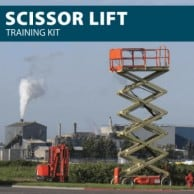 Scissor Lift Training Kit from Hard Hat Training