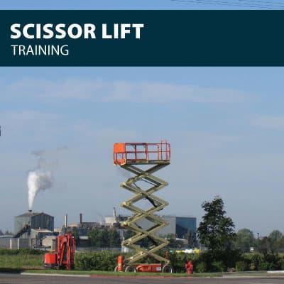 scissor lift training certification