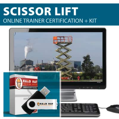 Scissor Lift Train the Trainer Certification Course by Hard Hat Training
